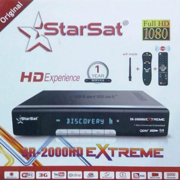 Starsat 2000 EXTREME HD Satellite Receiver H 265 HEVC