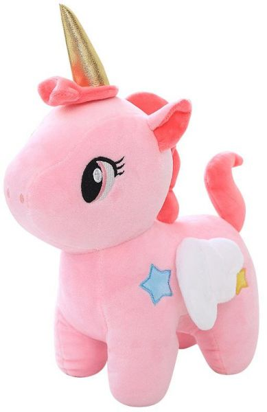 b5770d3c74c Pink 25cm Cute Rainbow Unicorn Plush Toys Lovely Unicorn Stuffed Animal  Horse Toy Doll Children Toys Baby Cuddle Toys Birthday Gifts
