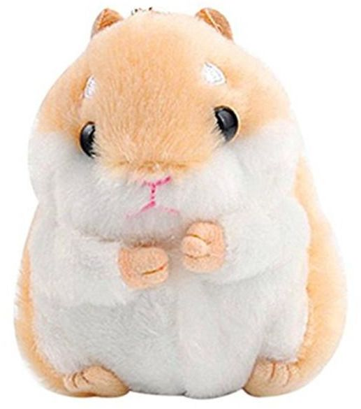 Women s Hamster Plush Key Chain 35c8b79439