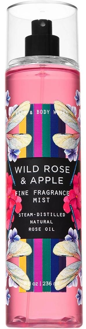 Bath and body works wild rose and apple fine fragrance mist 236ml
