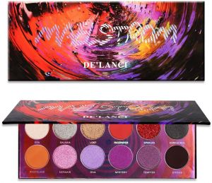 Eye Shadow Beauty Glazed 12 Colors Eyeshadow Palette Shimmer Waterproof Metallic Matte Eye Shadow Powder Professional Glitter Shadow Kit Back To Search Resultsbeauty & Health