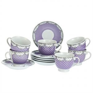 6a8b17ef5cdeb Harmony Cup   Saucer Set - 12 Pieces
