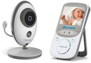 fa217c90731 Yimaler Video Baby Monitor Wireless with Digital Camera Night Vision 2 Way  Audio Temperature Monitoring Lullabies Long Range and High Capacity Battery  for ...