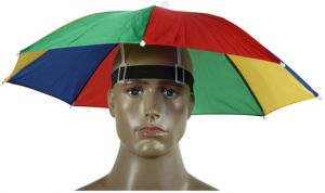 c37938e3a9bd6 Funny Umbrella Hat Adult and Kids Folding Cap for Beach Fishing Golf Party  Headwear