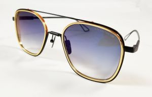 6851c849a8 Dita System One Aviator Sunglasses Model DTS 103 with Black Gunmetal Frame  and Grey Gradient Lens Unisex