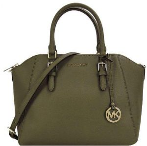 70a6cdbcc2bc ... Michael Kors Bag For Women,Olive - Satchels Bags ...