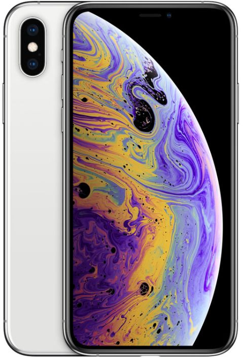 Apple iPhone Xs Without FaceTime - 256GB, 4G LTE, Silver