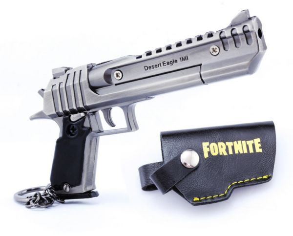 Personalized Zinc Alloy Fortnite Keychain Cannon Pistol Weapon With