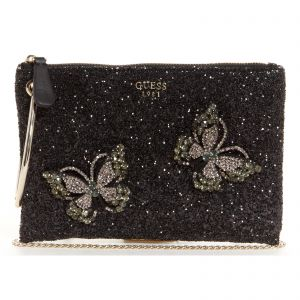 2a111baf425 Guess Clutch Bag for Women - Black