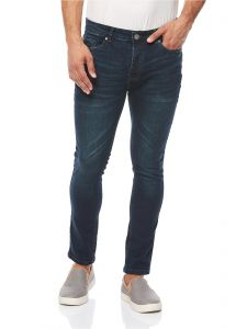 Brave Soul Ibaka Washed Jeans for Men - Blue d3c88e0a0d