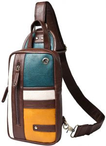 c5cb8c23bd90 Cool Men Single Sling Shoulder One Strap Retro Chest Pack Bag Travel Pouch  Shoulder CrossBody Messenger Ipad Bags Travel Cycling Outdoor Sports