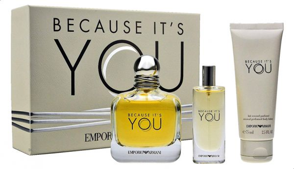 Giorgio Armani Because Its You Eau De Parfum For Women Set Of 2