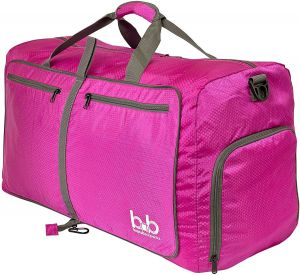214a0ccc41 BB Duffle Bag with Pockets for Women and Men - Travel Duffel Bags for Gym  Sports