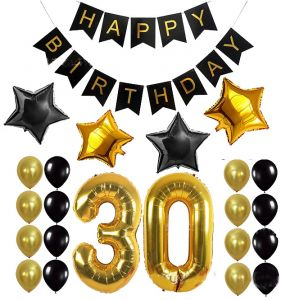 32inch Foil Number 30 Years Old Party Supplies 30th Birthday