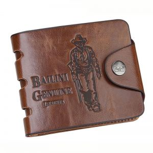 e71808afbe739 Leather Wallets for Men Handmade Bifold Wallet ID Card Holder with coin  pocket