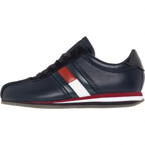 72501438fc43 Tommy Hilfiger Black Fashion Sneakers For Women