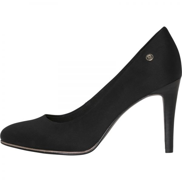d77472f3ae35 Tommy Hilfiger Black Heel For Women