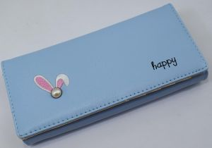 7fad83e5816d Wallet for girls and ladies for money and cards 20 cm