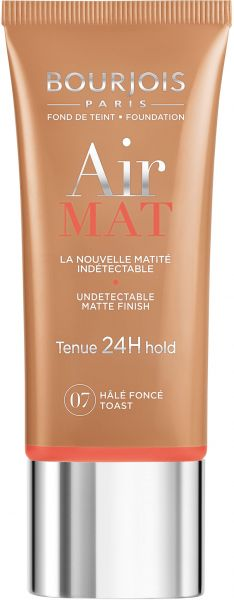 Bourjois Air Mat 24H Foundation 07 Dark Tan 30 ml - 1.0 Fl Oz