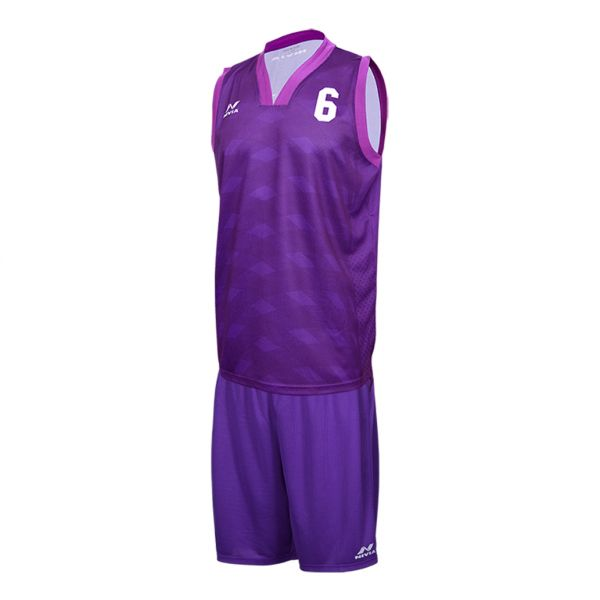 Nivia Panther Basketball Jersey Set for Men - Purple 37bea758c