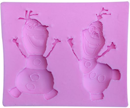 Cake Mold Snowman Mini Chocolate Sugar Jelly Pudding Biscuits Baking Maker Molds  Cake mould good