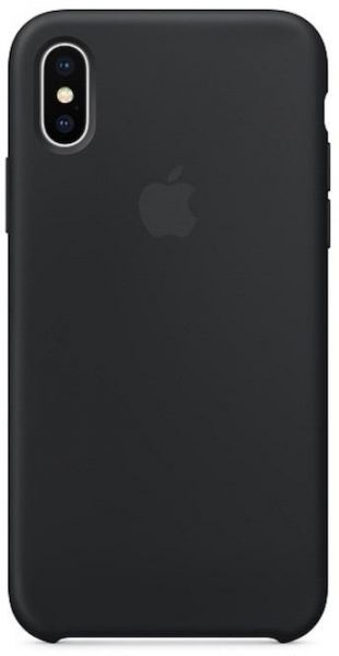 Apple iphone xs max silicone case blackweb phone
