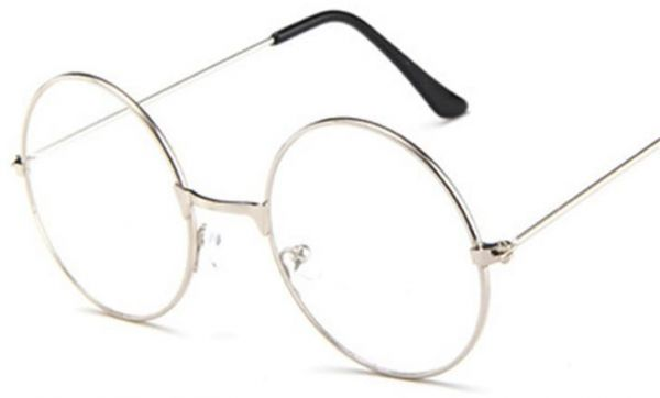 4f1d630c24b7 Round Circle Clear Lens Eyeglasses Unisex Glasses Light Weight Metal Frame