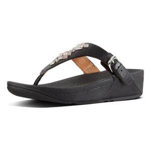 2d50625cfd49 FitFlop The Skinny Toe-Thong Sandals For Women