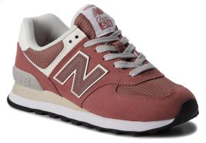 New Balance NB-574 Walking Sneakers For Women - Pink : Buy ...