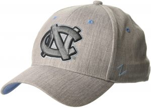 cc1c7f52c40 Zephyr NCAA North Carolina Tar Heels Mens Tailoredtailored Stretch Cap
