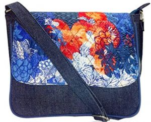 1ba8b95f3b pick pocket Women s sling Bag (blue denim)