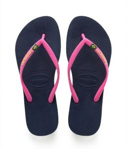 bd48b65f9346 Havaianas Navy Blue Flip Flop Slipper For Women