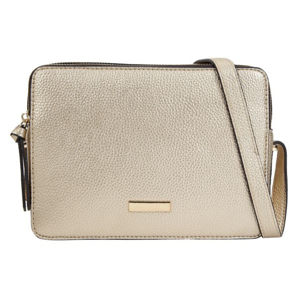 Call It Spring Brumma Crossbody Bag For Women Polyurethane Gold