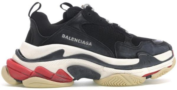 45a56250bfc54 Balenciaga - Black Triple S Sneakers - For Unisex