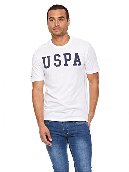 U S Polo Assn T Shirt For Men White Souq Uae