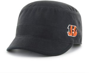 e6d3e140198 NFL Cincinnati Bengals Adult Women NFL Shipmate Ots Cadet Military-Style  Adjustable Hat