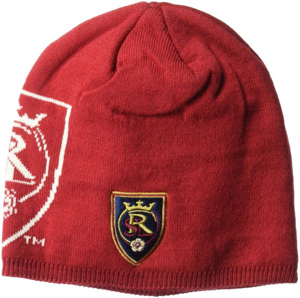 d5d37b9d12083 ... greece mls real salt lake mens glow in the dark knit beanie one size  red 7e279