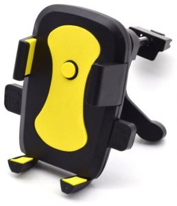 Universal 360 Rotation Car Air Vent Mount Cradle holder Stand for Cell Phone GPS cell phones GPS devices 5.0 7.5CM iPhone Samsung HTC Blackberry Black and ...