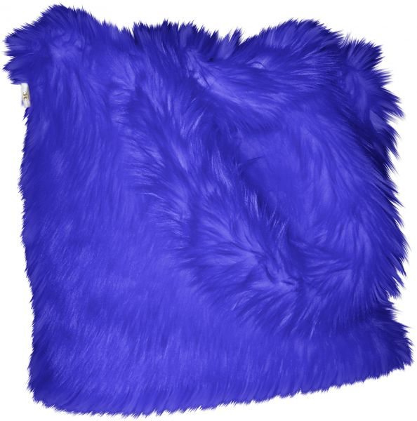 ef04c6a2bc2 CHC-Beverly Hills Luxurious Signature Fluffy Fur Weekender Bag Large  Overnight Duffel, Bright-Blue, One Size