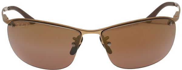 fc1e3efeef Ray Ban Chromance Metal Frame Brown Lens Sunglasses RB3542 Price in ...