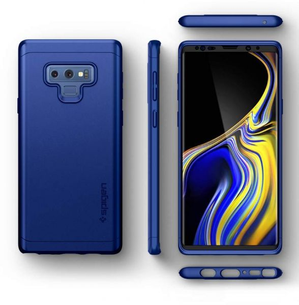 on sale 55e50 fd07a Spigen Galaxy Note 9 Thin Fit 360 case with Exact Slim Full ...