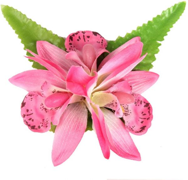 Youbami Hawaiian Orchid Flower Hair Clips Hair Barrette And Pin For