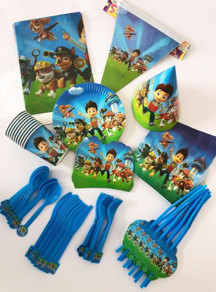 Paw Patrol Birthday Party Decoration 11 Items 107 Pieces Set