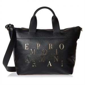 Emporio Armani Shopper Bag For Women - Black bfcae8879b60c