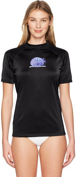 3156ba3965d83 Kanu Surf Women's Alyssa UPF 50+ Short Sleeved Active Rashguard and Workout  Top, Black, Small. by Kanu Surf, Swimwear - Be the first to rate this  product