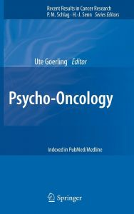an introduction to psycho oncology guex patrice