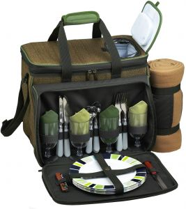 4462ce812f3 Picnic at Ascot Equipped Insulated Picnic Cooler With Blanket