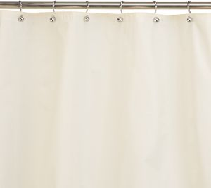 Carnation Home Fashions 10 Gauge PEVA 72 By 84 Inch Shower Curtain Liner X Long Ivory