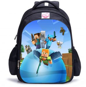 4025b38e821a Minecraft My Word Games Casual Kindergarten Boys Chirldren Cartoon Printed  Backpacks Large Capacity Student Schoolbag Bookbags Waterproof Nylon  Shoulder ...