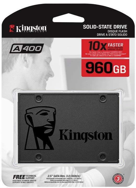Kingston SA400S37/960G SSD A400 960 GB Solid State Drive (2.5 Inch SATA 3)
